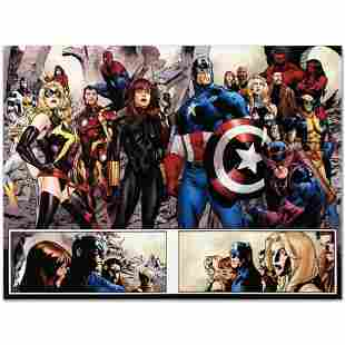 """Marvel Comics """"Fear Itself #7"""" Numbered Limited Edition"""