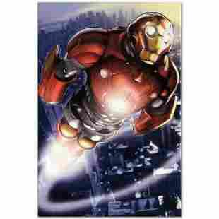 """Marvel Comics """"Ultimate Iron Man II #3"""" Numbered"""