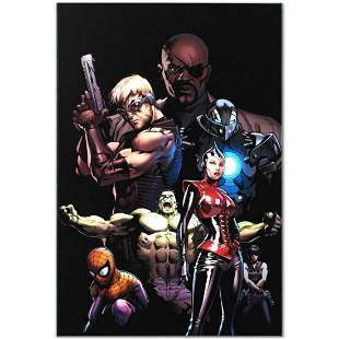 """Marvel Comics """"Ultimate Avengers #3"""" Numbered Limited"""