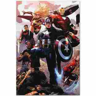 "Marvel Comics ""Avengers: The Children's Crusade #4"""