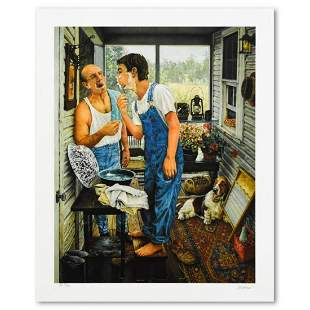 """Susan Brabeau, """"First Shave"""" Limited Edition"""