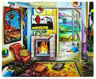 "Alexander Astahov- Original Oil on Canvas ""Outstanding"