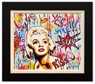 "Nastya Rovenskaya- Original Oil on Canvas ""Sexy Marilyn"