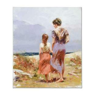 """Pino (1939-2010), """"Summer Afternoon"""" Artist Embellished"""