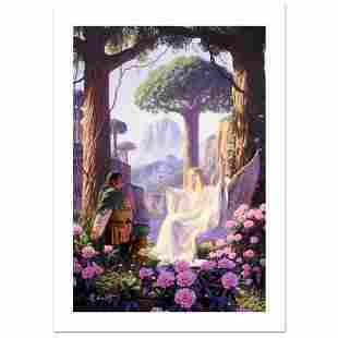 """""""The Gift Of Galadriel"""" Limited Edition Giclee on"""