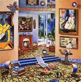 "Alexander Astahov- Original Giclee on Canvas ""Story"