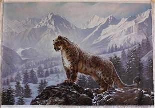 "Sergey Goncharenko- Original Oil on Canvas ""On the"