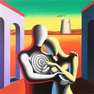 """Mark Kostabi """"THE SOUL WITHIN THE SOUL"""" Original"""