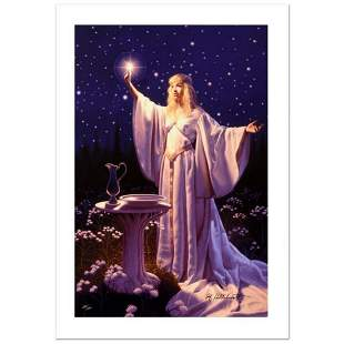 """""""The Ring Of Galadriel"""" Limited Edition Giclee on"""
