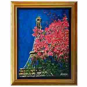 "Howard Behrens (1933-2014), ""Paris in the Spring"" Hand"