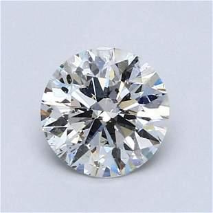 1.02 ct, Color F/SI2 IGI Graded Diamond