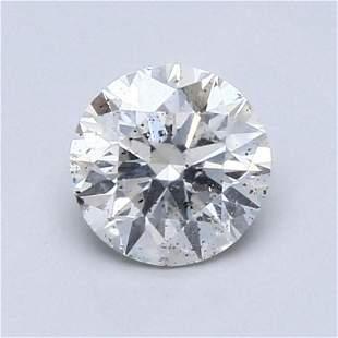 1.01 ct, Color F/I1 GIA Graded Diamond