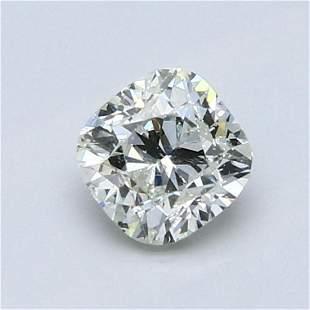 1.02 ct, Color F/SI1 EGL Graded Diamond