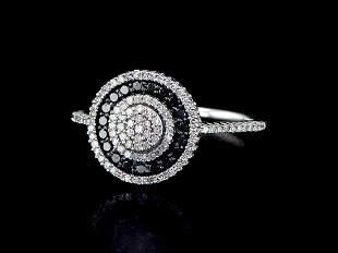 14kt White Gold 1.56 ctw Diamond Ring