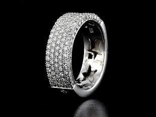 14kt White Gold 1.38 ctw Diamond Ring