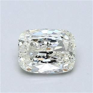 0.89 ct, Color J/IF GIA Graded Diamond