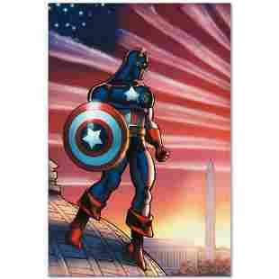 "Marvel Comics ""Captain America Theatre of War: America"