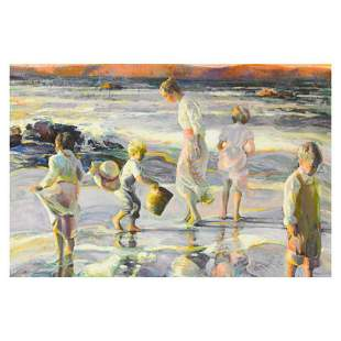 "Don Hatfield, ""Frolicking at the Seashore"" Limited"