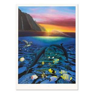 "Wyland, ""Kiss For the Sea"" Limited Edition Lithograph,"