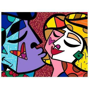 "Romero Britto ""Honey"" Hand Signed Limited Edition"