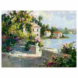 "Marilyn Simandle, ""Riviera Walk"" Limited Edition on"