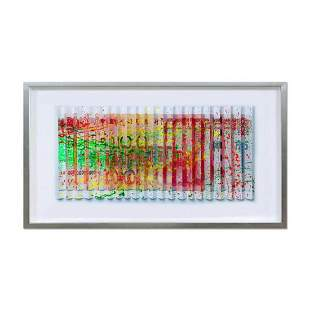 E.M. Zax- One-of-a-kind 3D polymorph mixed media on