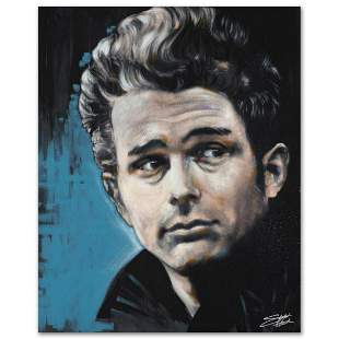 """James"" Limited Edition Giclee on Canvas by Stephen"