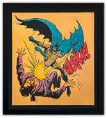 "Mr. Brainwash- Silkscreen Serigraph ""Bat-Wockk"""