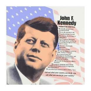 "Steve Kaufman (1960-2010) ""John F. Kennedy"" Limited"
