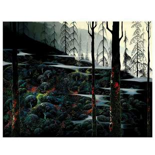 "Eyvind Earle (1916-2000), ""Dawns First Light"" Limited"