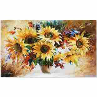 """Leonid Afremov (1955-2019) """"Sunflowers"""" Limited Edition"""