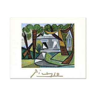 "Pablo Picasso (1881-1973)- Original Lithograph ""La vet"