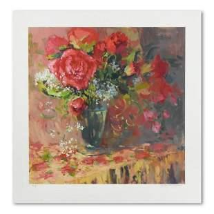 """S. Burkett Kaiser, """"Morning Petals"""" Limited Edition,"""