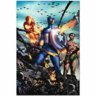 """Marvel Comics """"Giant-Size Invaders #2"""" Numbered Limited"""