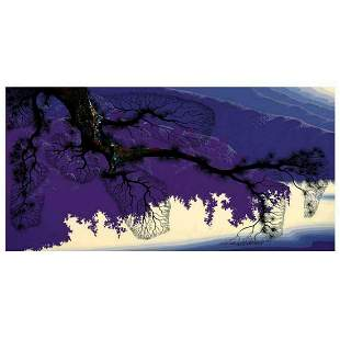 "Eyvind Earle (1916-2000), ""Purple Coastline"" Limited"