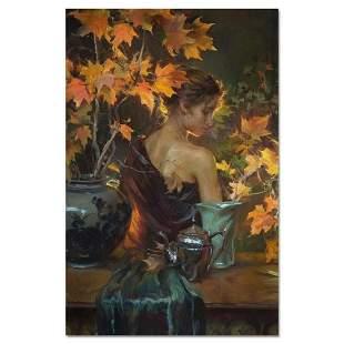 "Dan Gerhartz, ""October Glow"" Limited Edition on Canvas,"