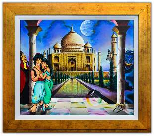 "Ferjo- Original Oil on Canvas ""Diamond in the Rough"""