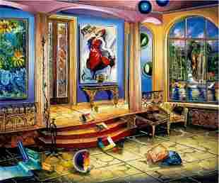 "Alexander Astahov- Original Giclee on Canvas ""Modern"