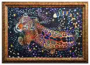 "Vera V. Goncharenko- Original Giclee on Canvas ""Strong"