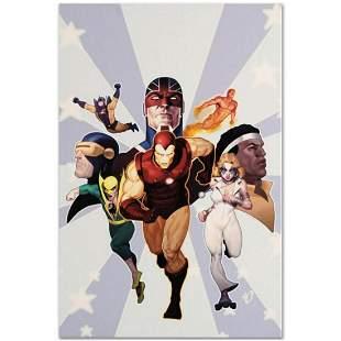 "Marvel Comics ""Iron Age: Omega #1"" Numbered Limited"