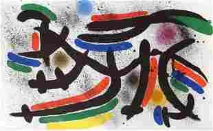 """Joan Miro- Lithograph """"Miro lithographe I-12"""""""