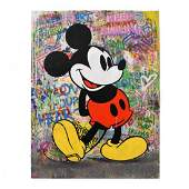 "Mr. Brainwash, ""M-Classic"" One-of-a-Kind Mixed Media"