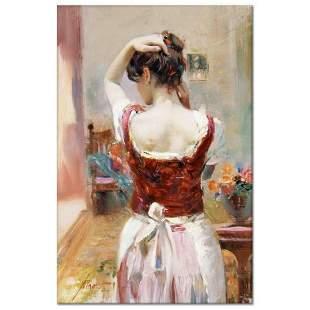 "Pino (1939-2010), ""Isabella"" Artist Embellished Limited"
