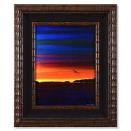 "Wyland, ""Keys 5"" Framed Original Oil Painting on"