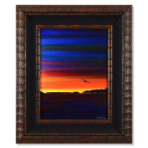 "Wyland, ""Keys 5"" Framed Original Oil Painting on"