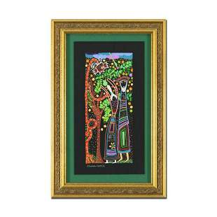 """Raphael Abecassis""""The Devious Snake"""" Hand Signed Framed"""