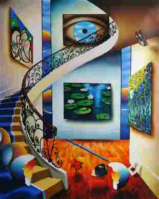 "Ferjo ""EYE OF A MASTER"" Giclee on Canvas"