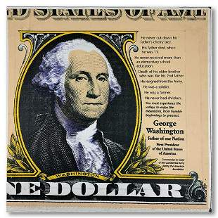 "Steve Kaufman (1960-2010) ""George Washington, Father of"