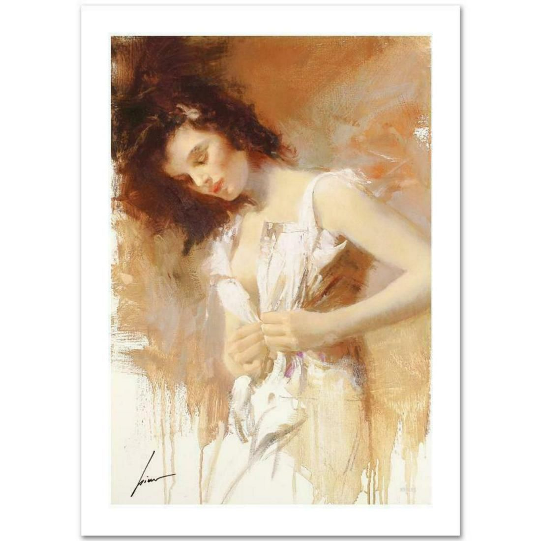 """Pino (1939-2010) """"White Camisole"""" Limited Edition"""