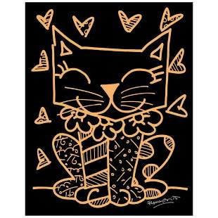 """Romero Britto """"So Much To Love"""" Hand Signed Limited"""